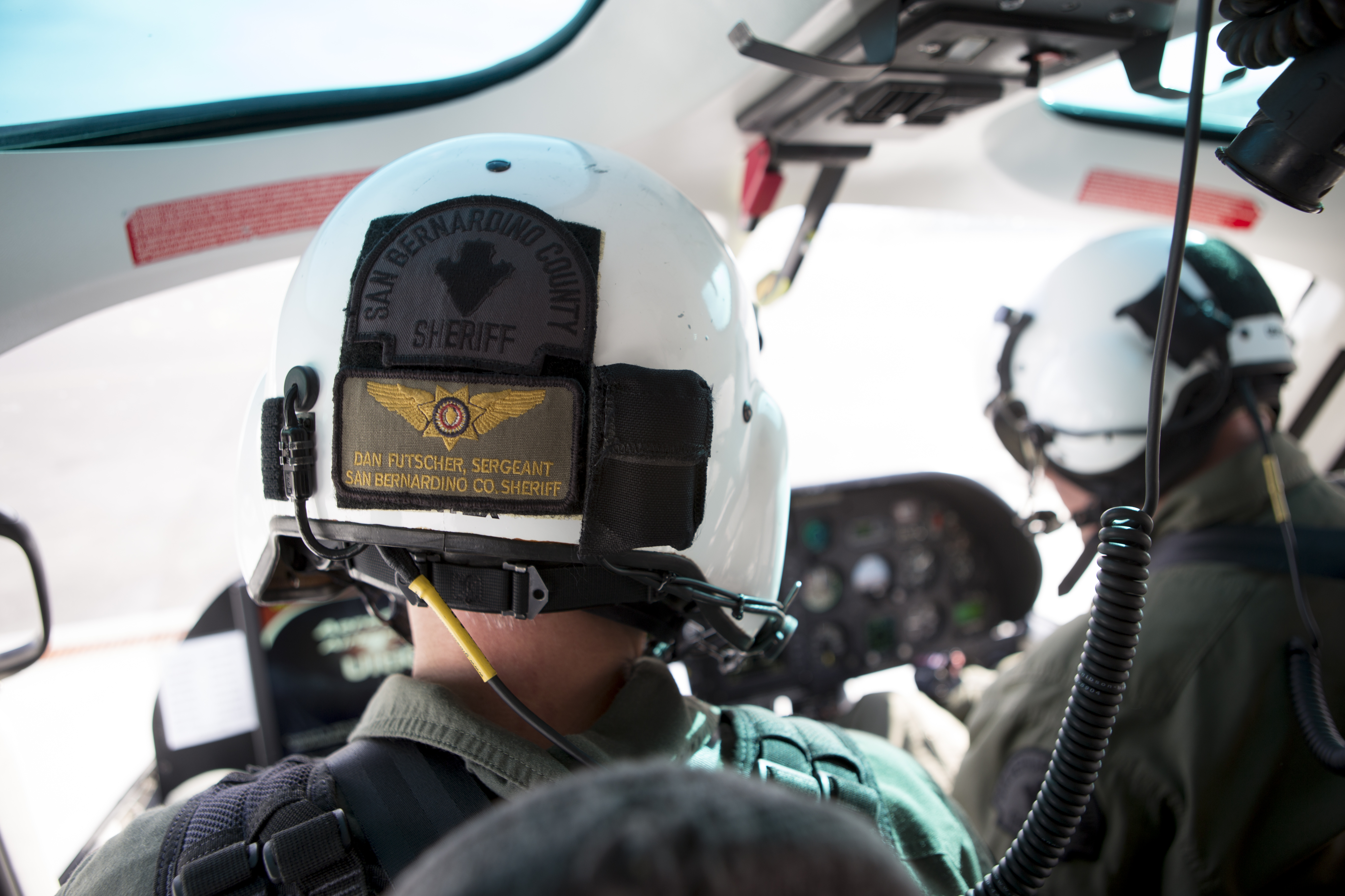 40-King : San Bernardino County Sheriff's Dept  aviation